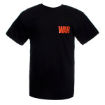 U2 War Logo T-Shirt (Black)