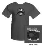 U2com Carter-Finley Stadium Raleigh T-Shirt
