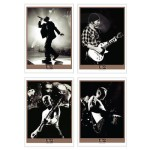 U2com Set Of Four Live On U2 360 Lithographs