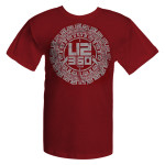 U2 2011 Buddhist Punk Circle T-shirt*