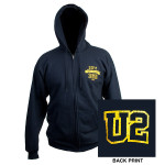 U2 360 Tour 2011 Zip Up Hoody*