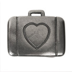 U2 Suitcase/Heart Belt Buckle
