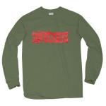 Supersuckers Green Long Sleeve T-Shirt