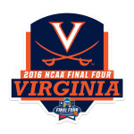 UVA 2016 Final Four Banner Decal