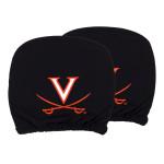 University of Virginia Headrest Cover Set (Set of 2)