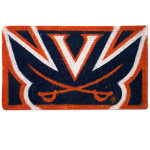"UVA 18"" x 30""  Coir Welcome Mat"