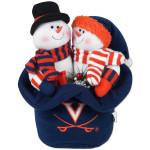UVA Snowmen Top Hat