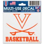 UVA Basketball - 3X4 Ultra Decal