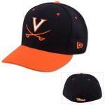 UVA Baseball On-Field Fitted Navy Cap