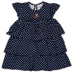 UVA Infant Natasha Dot Dress