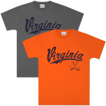 UVA Baseball Script One T-shirt