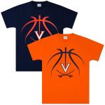UVA Basketball Lines T-shirt