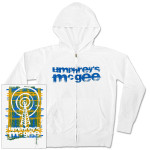 Umphrey's McGee- Men's Distressed Zip-Through Plaid 'Wet-Paint' Radio Tower