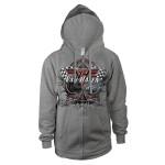 Van Halen 2012 World Tour Zip-Up Hoodie