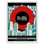 Global Citizen Festival Official Screen Print Poster