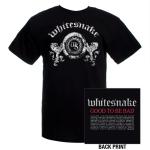 Whitesnake Lion Crest Whitesnake 2009 World Tour Tee