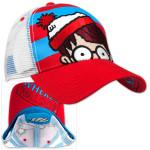 Where's Waldo? Striped Adjustable Cap