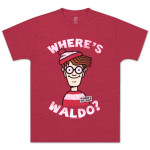 Where's Waldo? Head Shot T-Shirt