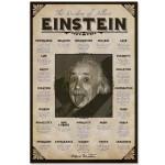 Albert Einstein Quotes 24inch x 36inch Print