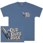 Albert Einstein Old Guys Rule Surfstein T-shirt