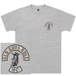 Albert Einstein Old Guys Rule Motorcycle Club T-shirt