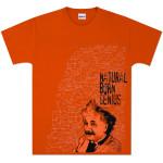 Albert Einstein Natural Born Genius T-shirt
