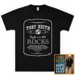 Toby Keith: Hope on the Rocks Deluxe CD & Unisex T-Shirt Bundle