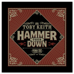 Toby Keith Hammer Down Tour Bandanna