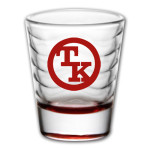 Toby Keith Red Logo Shot Glass