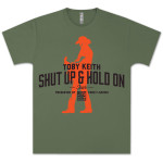 "Toby Keith ""Shut Up & Hold On"" Tour Dates T-shirt"