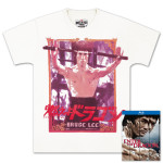 Bruce Lee Enter The Dragon 40th Anniversary BluRay and Nunchucks Tee Combo Pack