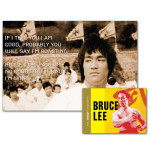 Bruce Lee Boasting or Lying Poster- Legacy Collection Combo