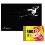 Bruce Lee Flying Immortality Poster - Legacy Collection Combo