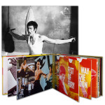 Bruce Lee Double Chucks Poster - Legacy Collection Combo