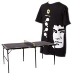 Killerspin Table/T-Shirt Bundle
