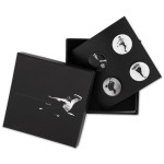 Bruce Lee LTD Edition Black & White Lapel Pin Set