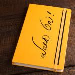 """Bruce Lee """"Walk On!"""" Journal by Moleskine"""