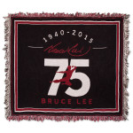 Bruce Lee LTD Edition 75th Tapestry Throw (Red)