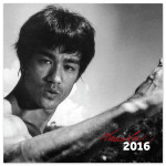 Pre-Order Bruce Lee 2016 Calendar - Exclusive
