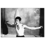 Bruce Lee Double Chucks Poster
