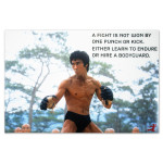Bruce Lee Learn to Endure Poster
