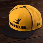 Bruce Lee Flying Man Yellow New Era Cap