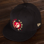 Bruce Lee Core Symbol Black New Era 59Fifty Fitted Cap