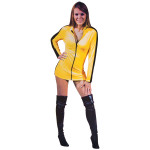 Bruce Lee Yellow Jumpsuit Ladies Dress
