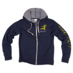 Bruce Lee Walk On! Hooded Full-Zip Sweatshirt by Homage