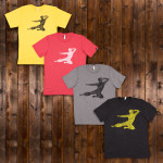 Bruce Lee Flying Man T-shirt - EXCLUSIVE