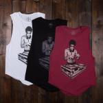 Bruce Lee DJ Dragon Women's Muscle Tank
