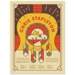 Chris Stapleton 2016 Spring Tour Poster
