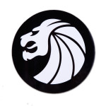 Seven Lions Circle Headdress Sticker