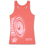 Bottle Rock Women's Coral Flowy Racerback Tank